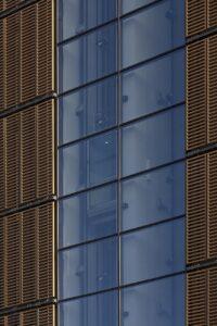 Giax Tower, particolare ascensori panoramici