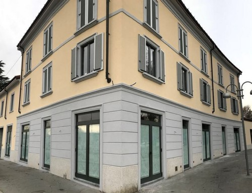 Serramenti EKU 66 TT HP ad alto isolamento termico per un immobile di prestigio a Monza