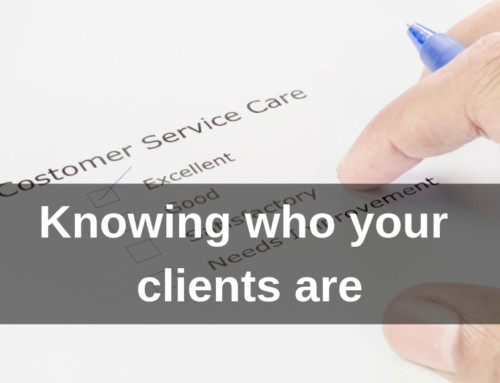 Knowing who your clients are
