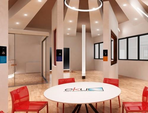The new company showroom for the EKU brand