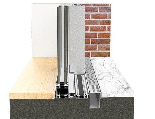 New reduced threshold for the sliding system Eku Perfektion Slide