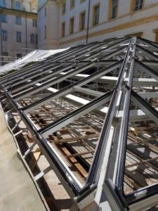Nuova copertura Sala Carpanini Torino Eku 50 Glass - New roof covering - 12