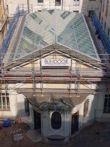 Nuova copertura Sala Carpanini Torino Eku 50 Glass - 23