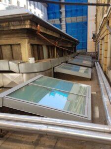 Nuova copertura Sala Carpanini Torino Eku 50 Glass - 25