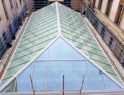 Una nuova copertura per la Sala Carpanini del Palazzo Civico di Torino