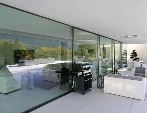 Profilo minimal di Eku Perfektion Slide per una Villa di Lugano