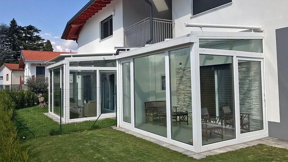 TS Aludesign alta specializzazione in serre bioclimatiche - giardini d'invero - verande - 5