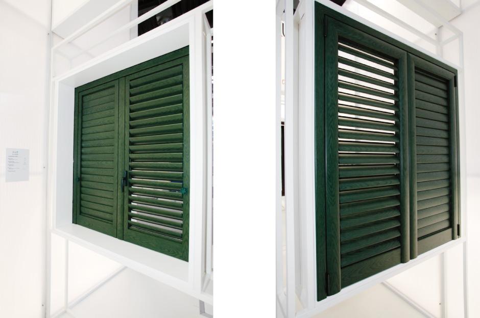 Eku green persiane in alluminio eku