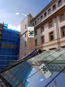 Nuova copertura Sala Carpanini Torino Eku 50 Glass - New roof covering - 17