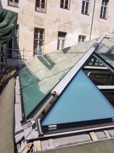 Nuova copertura Sala Carpanini Torino Eku 50 Glass - New roof covering - 21