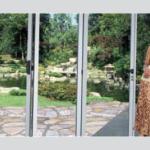 EKU Veranda permette di realizzare verande con apertura a libro e impacchettamento laterale